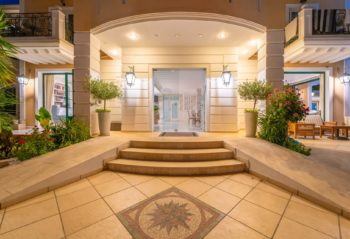 Hotel Orion Front Door